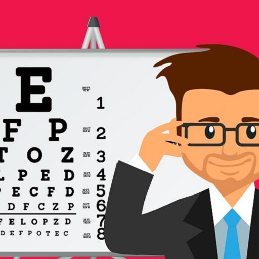 p betű szemvizsgálat