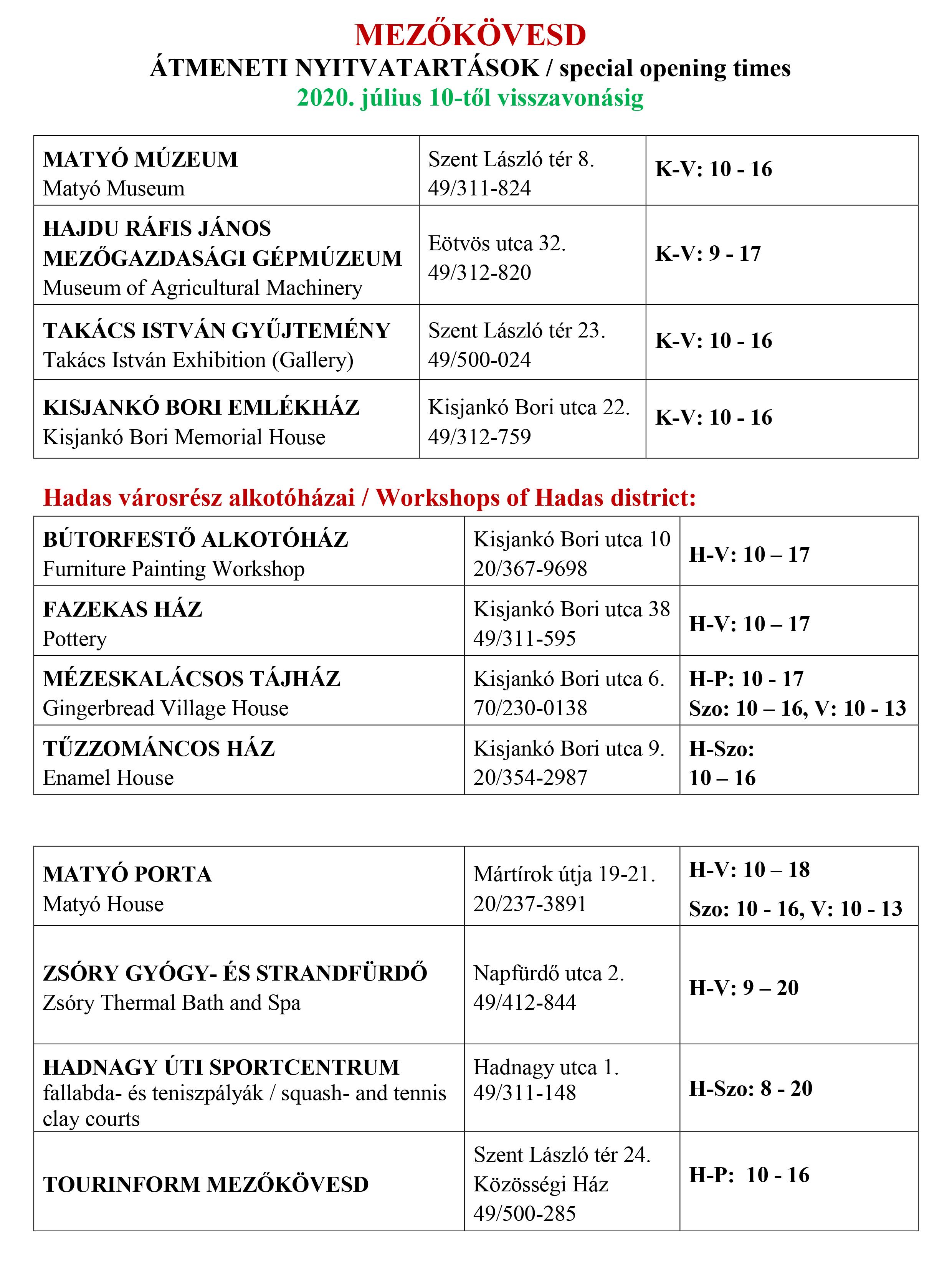 táblázat a látás latin tesztelésére)