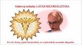 természetes látás helyreállítása előadás 2 videó tök a látáshoz, hogyan kell szedni